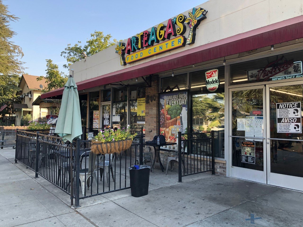 Storefront | Arteaga's Food Center | Mexican Grocery Store | Taqueria | Mexican Super Market