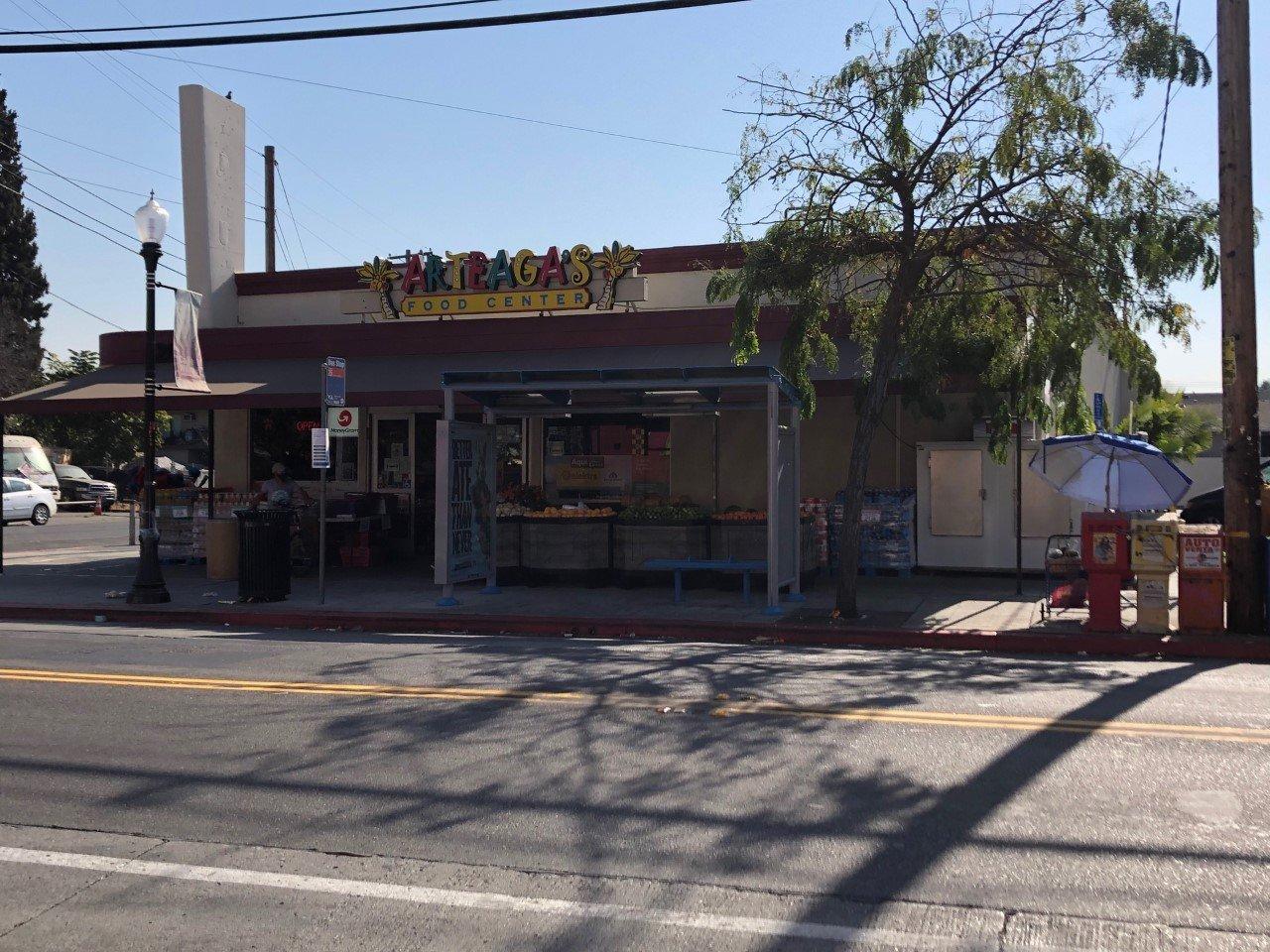Storefront | Arteaga's Food Center | Mexican Grocery Store | Taqueria | Mexican Super Market